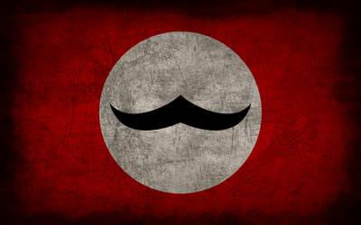 Communist Borduria Grunge Flag by Elthalen