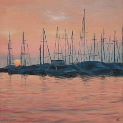 Marina sunset by LujayneM