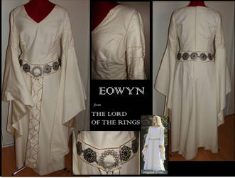 Eowyn white wool dress by LujayneM