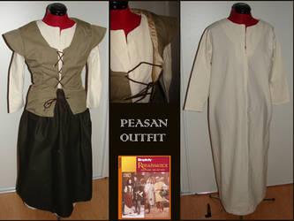 Peasan outfit by LujayneM