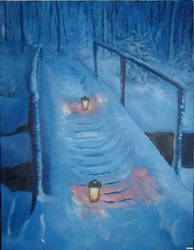 Winter night by LujayneM