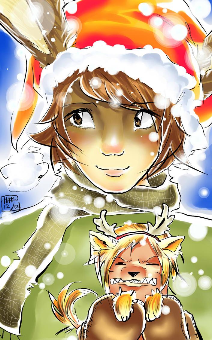 Merry Christmas! by KitsunekoShojo