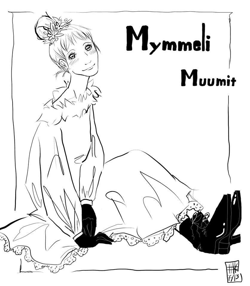 Mymble of Moomins LINE by KitsunekoShojo