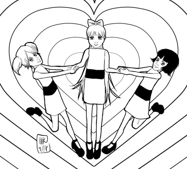 Save the world before bedtime LINE by KitsunekoShojo