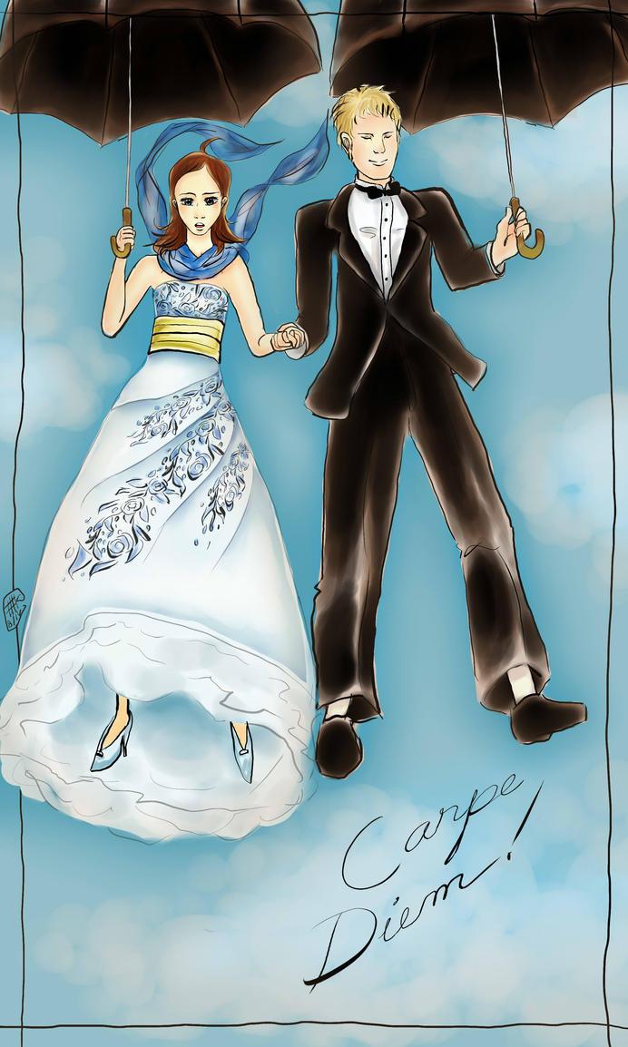 Rory and Logan: Carpe diem! by KitsunekoShojo