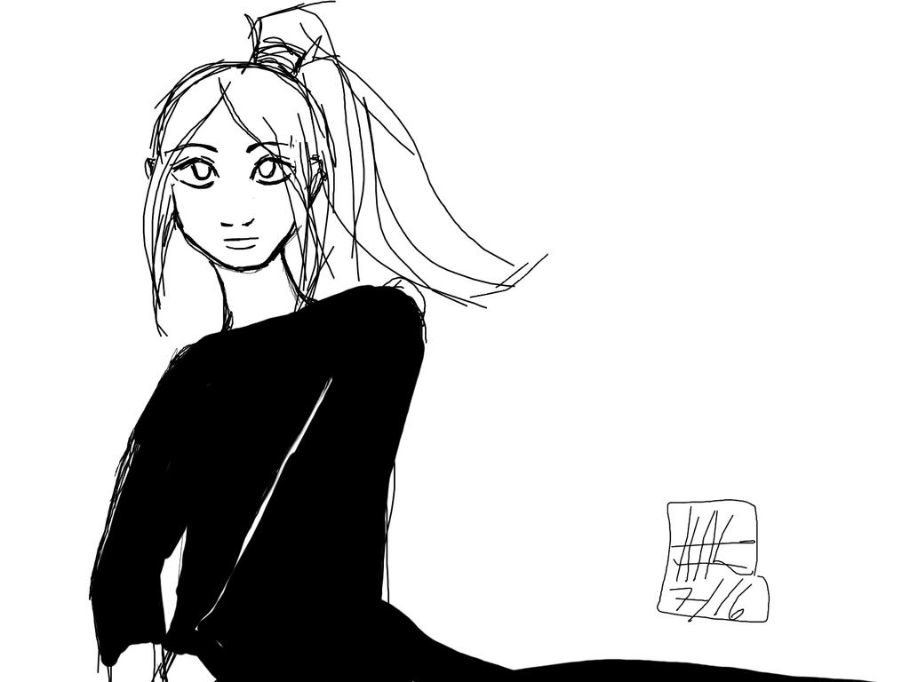 Line Art Krita : Kitsunekoshojo deviantart