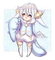 ADOPTS: Angelic Bell [CLOSED] by Mewpyonadopts