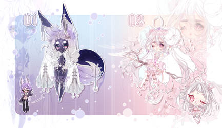 ADOPTS: Unsold designs REWORKED [1/2 OPEN] by Mewpyonadopts