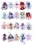 ADOPTS: Oni Beans [3/20 OPEN] by Mewpyonadopts