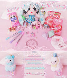 BIG PASTEL GIVEAWAY [OPEN til 15th July] .+:* by Mewpyonadopts