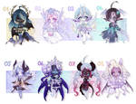 ADOPTS: Oni Beans [2/8 OPEN] by Lumilium