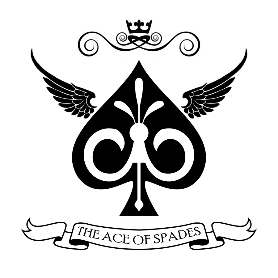 ace of spades logo simplified by luxoperon on deviantart