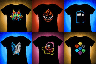 Preview for Youmacon 2013: Fandom T-Shirts!