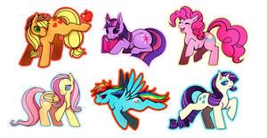 p-p-ponies by feralynn