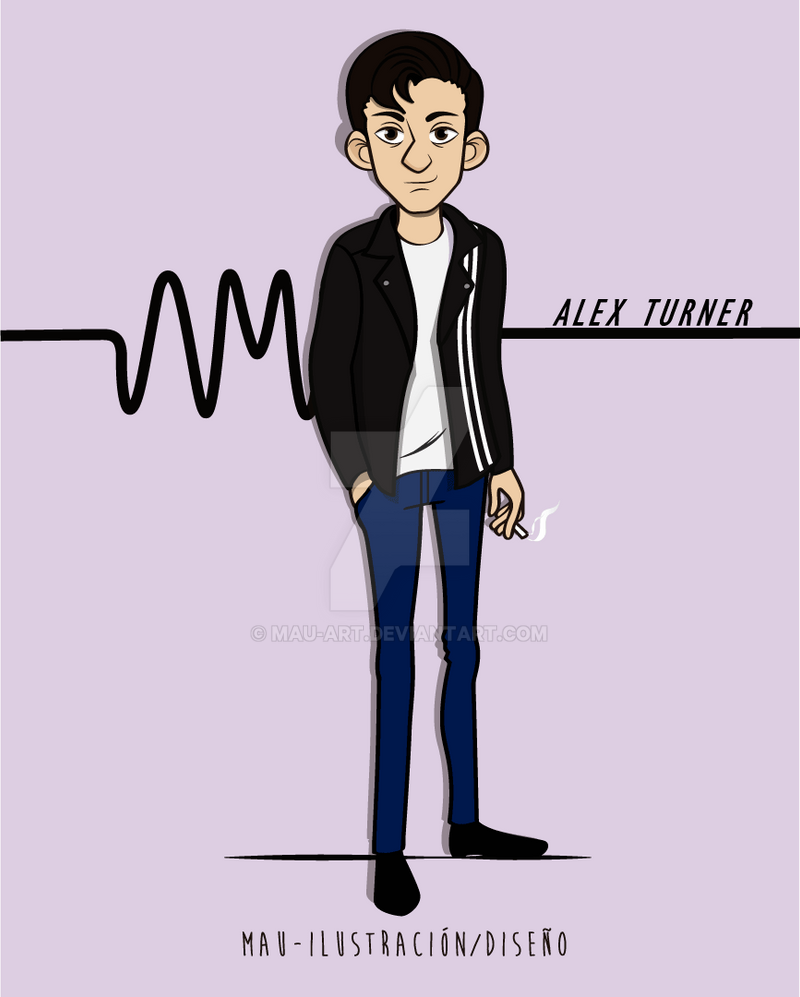 Alex turner by Mau-Art