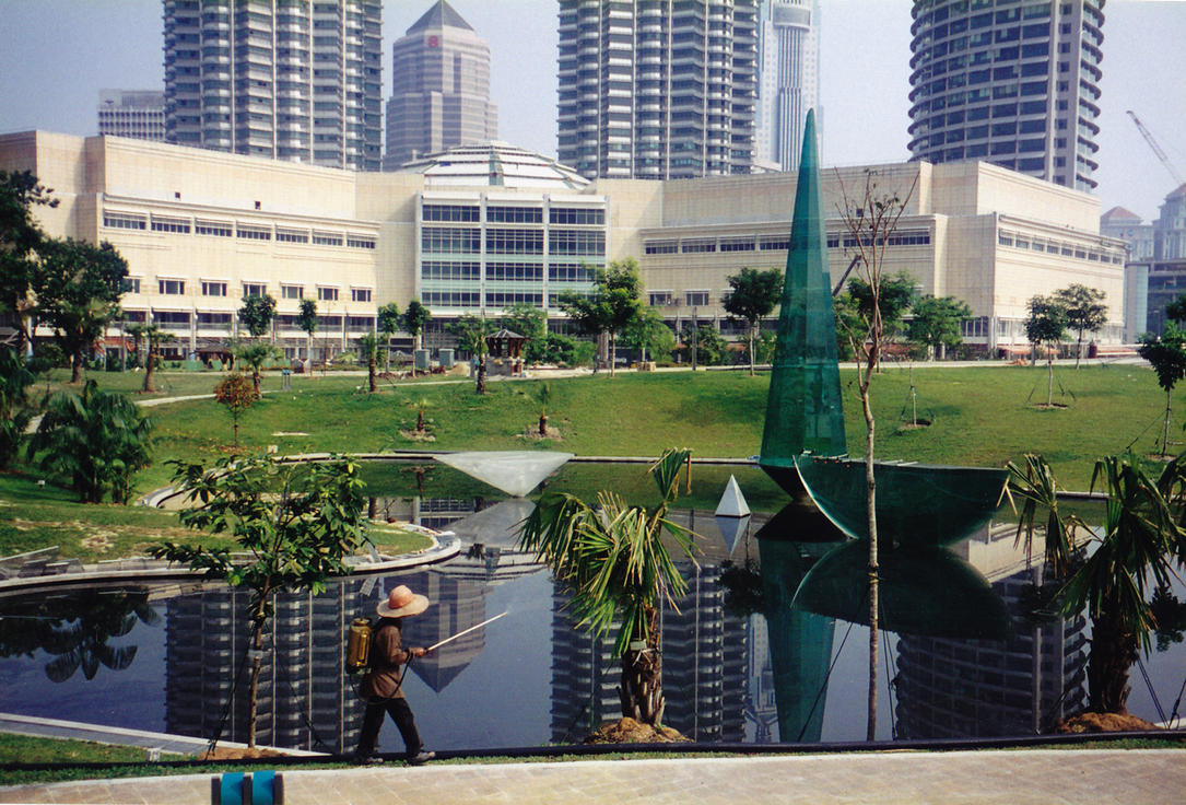 Petronas fogging by krigl