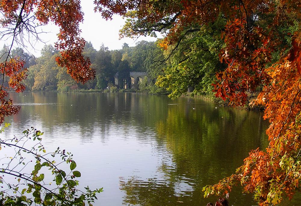 Lednice lake by krigl