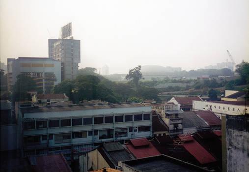 Romantic KL hotel view