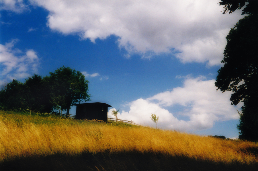 Meadow hut by krigl