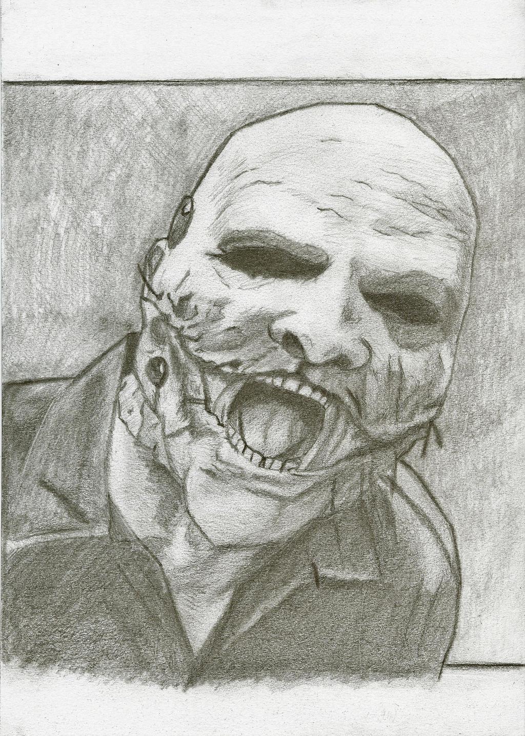 corey taylor sketch by haganax on deviantart