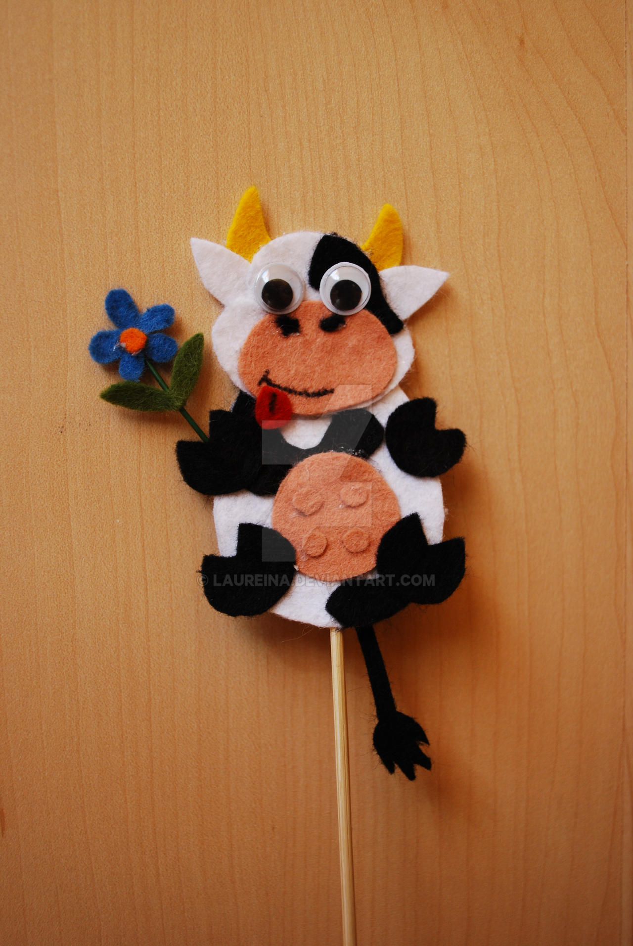 Cow by Laureina