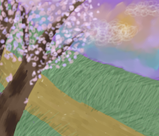 Sakura Tree by Zaxerutag