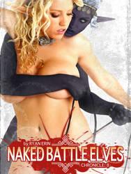 Naked Battle Elves:  Book 8 Cover Art by RyanErin