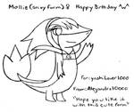 (Early Birthday Gift) Mollie the snivy