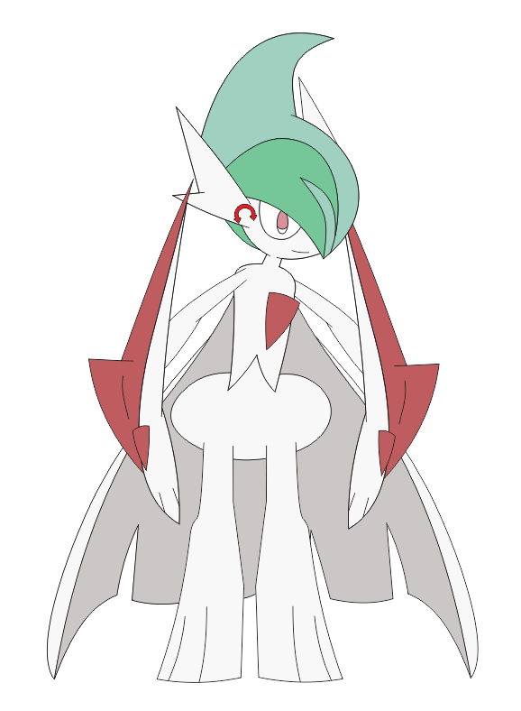 Gift) Mega Gallade Vinny in Inafune Style by Alejandro10000 on