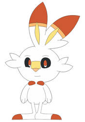 (Fan Art) Scorbunny in Inafune Style by Alejandro10000