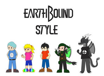 (Gift) Best Pals in EarthBound Style by Alejandro10000