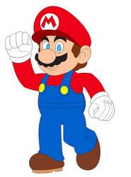 (Fan Art) Mario in Inafune Style