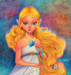 Princess Zelda by irenillart