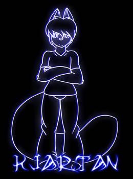 Kjartan in Neon colors