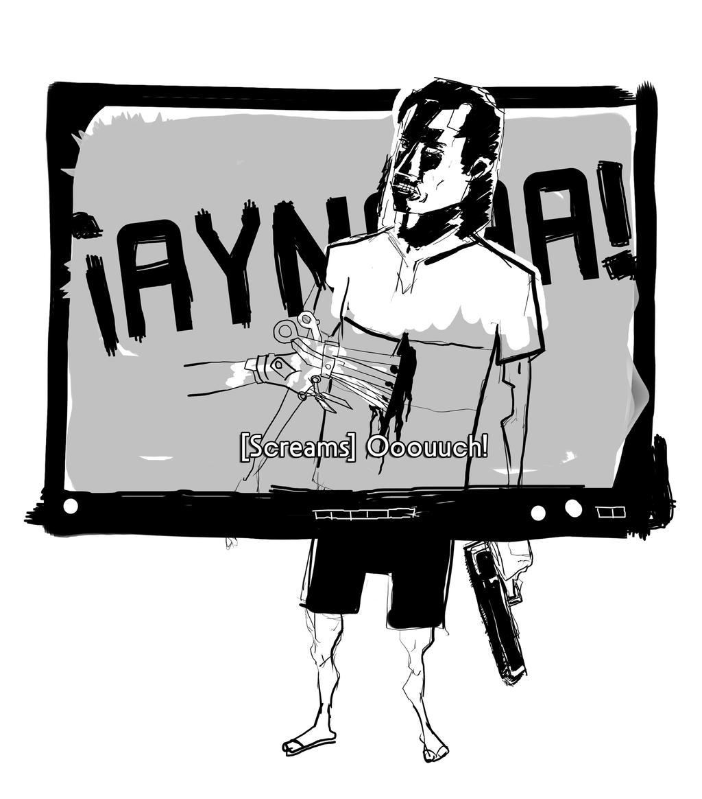Travolta vs Edward Scissor Hands by DERfrankREICH