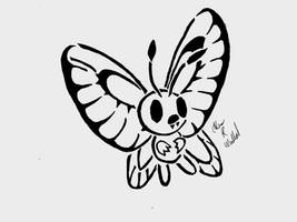 butterfree by awiede02