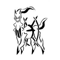 Arceus Tribal by awiede02
