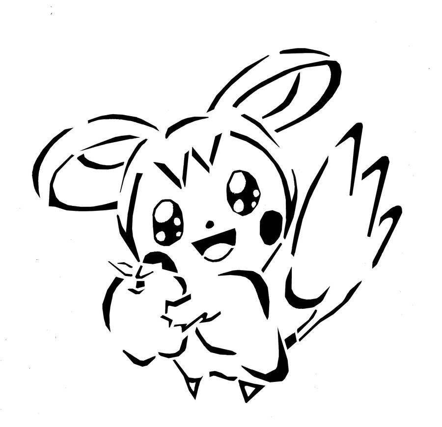 emolga pokemon coloring pages - photo#14