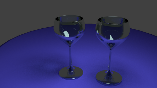 Wine glasses 3d ( ver2 ) by two2moooon