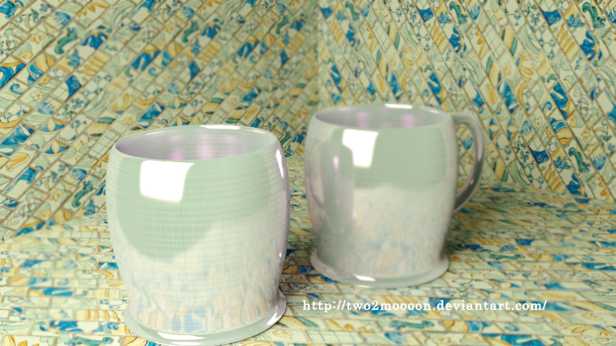Tae Cups  by two2moooon