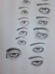 Practice drawing eyes by two2moooon