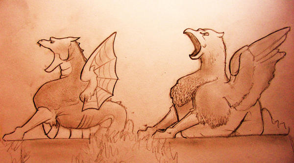 beware the dragons