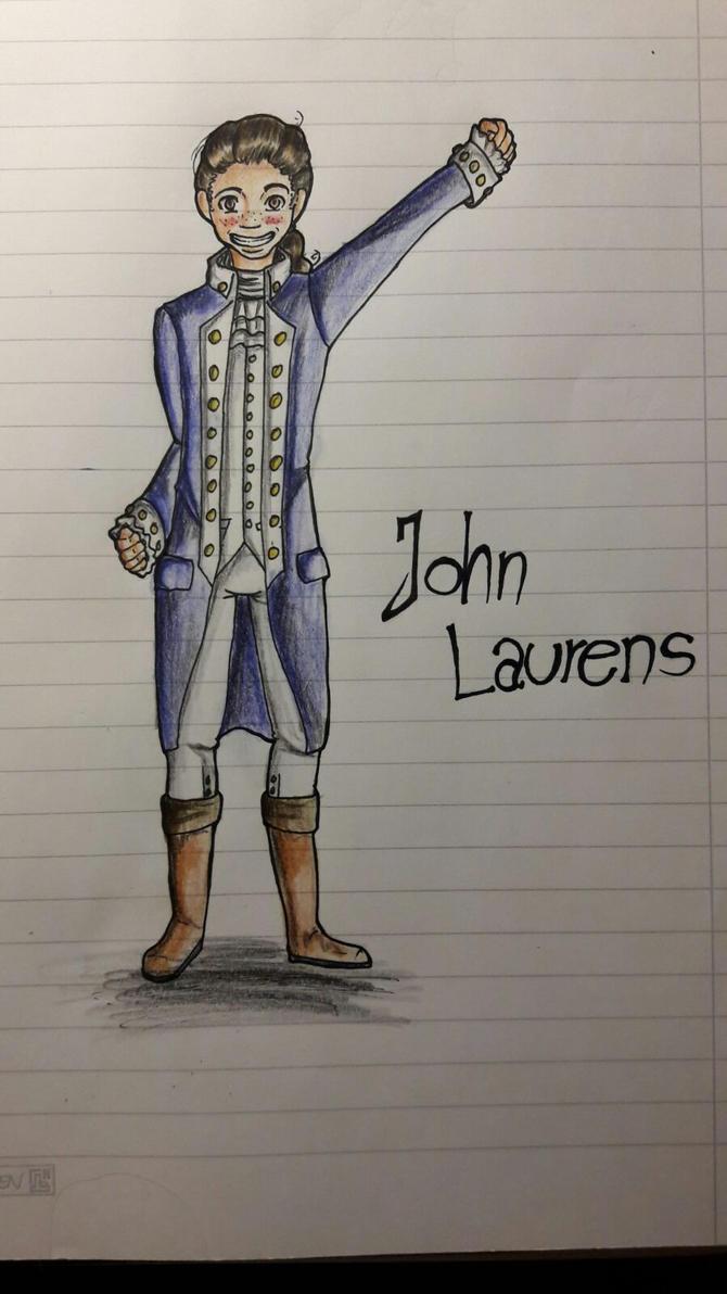 John Laurens by Fleckenfrost