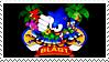 Sonic 3D Blast Stamp