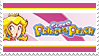 Super Princess Peach Stamp by StampPKU