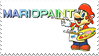 Mario Paint Stamp by StampPKU