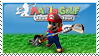 Mario Golf Stamp by StampPKU