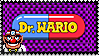 Dr. Wario Stamp by StampPKU