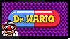 Dr. Wario Stamp by StampPKU