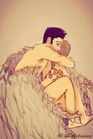 Hug your angel by Ali-Amphetamine
